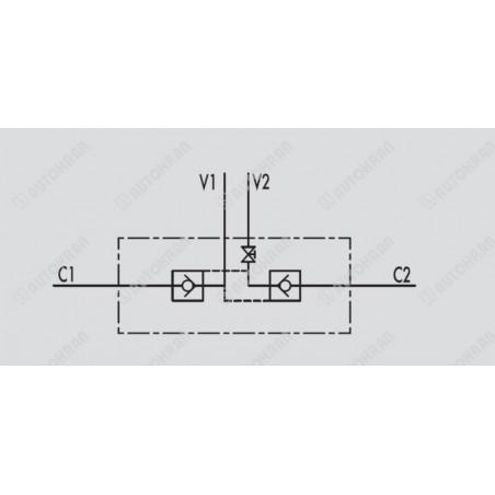 Cewka fi 18/40mm 24DC, 41 ohm, HIAB, zamiennik - 9868259, okrągła