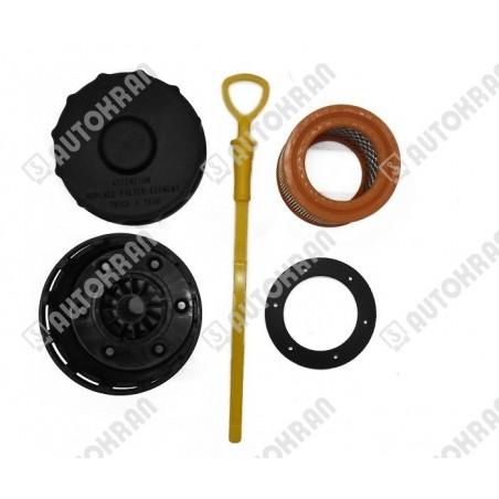 Uchwyt przewodu, obejma stalowo/gumowa fi. 19 mm