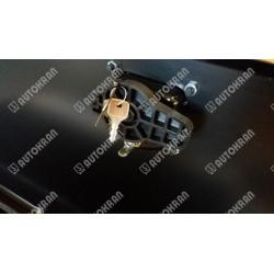 Skrzynka narzędziowa stalowa ocynk + lakier, dł. 1200mm. x szer. 500mm. x wys. 500mm.