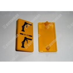 Piktogram (ramię główne) żółta tabl. stojąca / pionowa - 3552535
