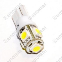 Żarówka LED typ T15 biała 12VDC