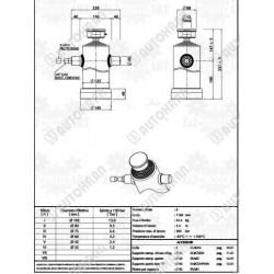 Wkład filtra hydraulicznego zrzutowego zbiornika - ERF 14NCC