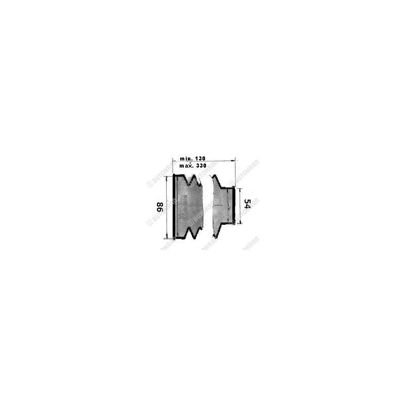 Wkład filtra zbiornika zrzutowy Hiab duży nowy typ fi 95/430 - 9868917