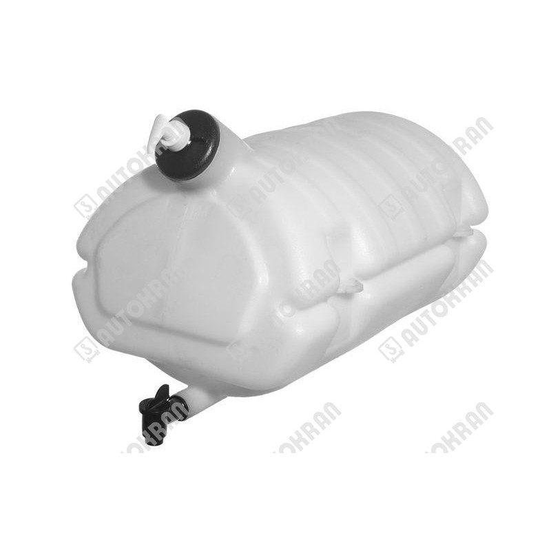 Zbiornik na wodę z kranikiem i dozownikiem mydła, biały