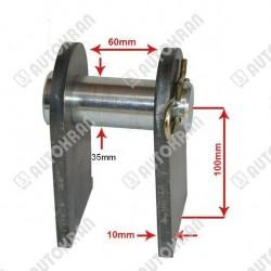 Licznik impulsów / roboczogodzin elektroniczny z podtrzymaniem zasilania bateryjnym.