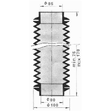 Elektrozawór fi 14,9mm ( pojedyńczy bez cewki ) nabojowy/nabój - NC z jednej strony - EG 132054