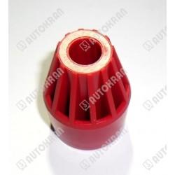 Gałka czerwona HIAB pod szkiełko z piktogramem - oryginał, HIAB 3519643