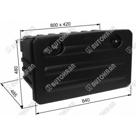 Sterowanie nożne (obudowa z gumką czerowną  i mikrowłącznikiem), podestu ruchomego, windy, tylnej klapy załadowczej
