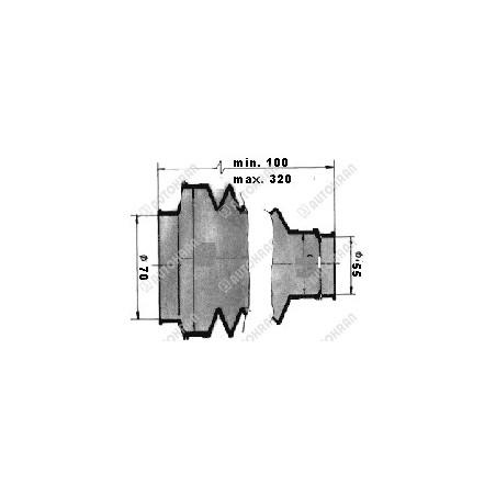 Wyłącznik, zawór krańcowy hydrauliczny normalnie otwarty, ( krańcówka hydrauliczna )
