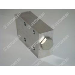 Zamek do podpory typ dwa wejścia, zamiennik dla części HIAB 9807039