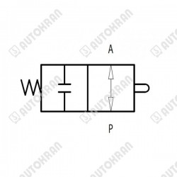 Spool Sensor stary typ, 3 sekcje V50/PV91 - 3657051 oryginał / stary nr. kat. 3657043