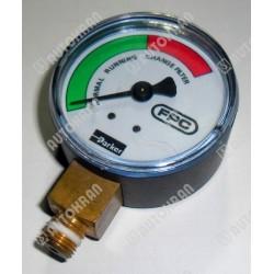 Wskaźnik / manometr zapchania filtra oleju wyjście boczne, oryginał HIAB 9824804