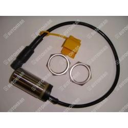 Uchwyt do rury / węża HIAB (podwójny aluminiowy 1 x M8, max. fi 16mm ) - 8912670, stary nr. 3184765