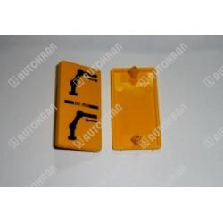 Piktogram (ramię wysuwu) żółta tabl. stojąca / pionowa- 3552560
