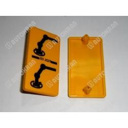 Piktogram (obrót) żółta tabl. stojaca / pionowa - 3552527