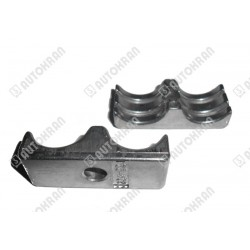 Uchwyt do rury / węża HIAB (podwójny aluminiowy 1 x M8) 17,6mm - 19,6mm  - oryginał 3423069