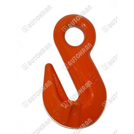 Zawiesie łańcuchowe 2 - cięgnowe MI.  8-8, 2,8t. - 4,0m, + haki skracające