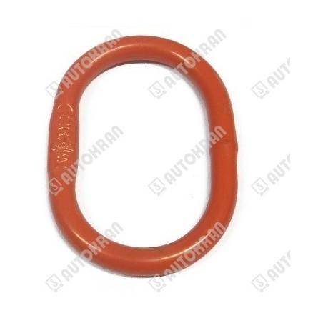 Zawiesie łańcuchowe 2 - cięgnowe MI.  8-8, 2,8t. - 5,0m, + haki skracające