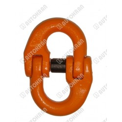 Łącznik łańcucha MI.  8-10, 2,5t. - wym. 62mm x 19mm x 11mm