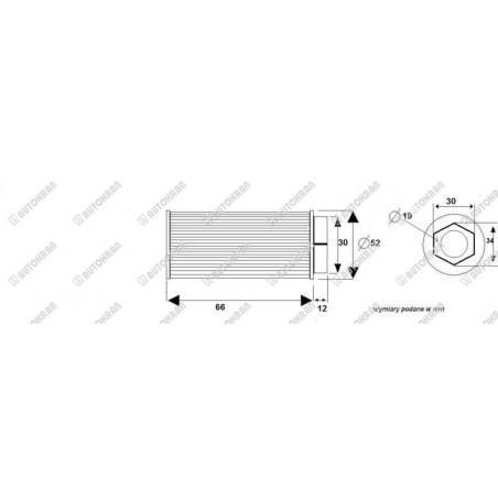 Zawiesie łańcuchowe 2 - cięgnowe MI. 13-8, 7,5t. - 5,0m, + haki skracające