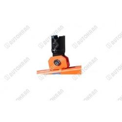 Łącznik do wideł samopoziomujących sprężynowych, pod rotator FR 15 - wałek - fi 69, sworzeń - fi 30mm