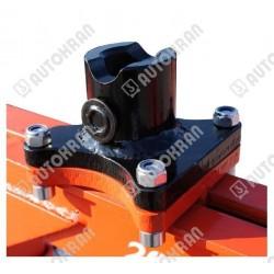 Łącznik do wideł hydraulicznych pod rotator GR30 lub FR7, sworzeń rotatora 49/25mm