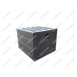 Skrzynka narzędziowa szer. 600mm. x wys. 500mm. x gł. 650mm. - czarna