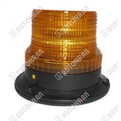Lampa ostrzegawcza diodowa (kogut) LED, mocowanie podstawa 3 śruby.