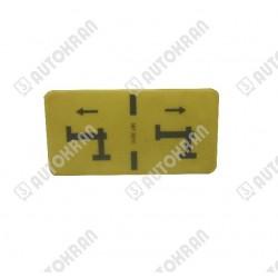 Zawiesie łańcuchowe GRABIQ 2 cięgnowe MGD-GBK 3,5t-3,0m kl.10