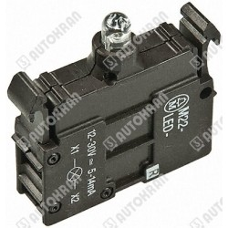 Kontrolka dioda led (M) 12-30V AC/DC do podstawki