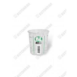 Pojemnik na farbę, olej, lakier, plastikowy z podziałką 400 ml - 1 szt.