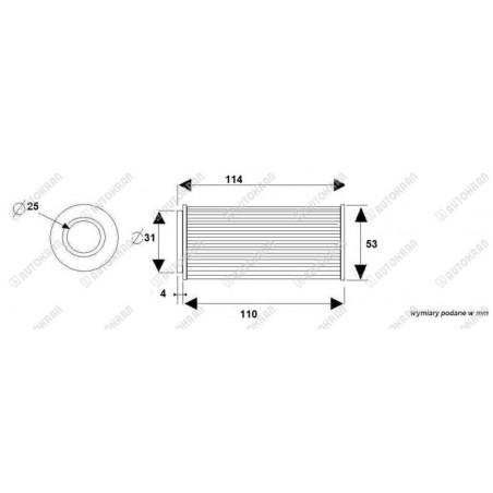 Mechanizm załączający przystawkę PZB ( włącznik przystawki ) 195ECO15212