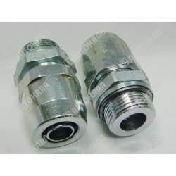 Złączka M HALDEX-WIRA M22x1,5 wąż 15x1,5mm - 301 1522 2, szybkozłącze pneumatyczne samochodowe dla pojazdów, przyczep, Pu