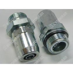 Złączka M HALDEX-WIRA M22x1,5 wąż 12x1,5mm - 301 1222 2, szybkozłącze pneumatyczne samochodowe dla pojazdów, przyczep, Pu