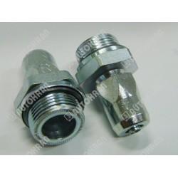 Złączka M HALDEX-WIRA M22x1,5 wąż  8x1mm - 301 0822 2, szybkozłącze pneumatyczne samochodowe dla pojazdów, przyczep, Push
