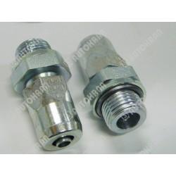 Złączka M HALDEX-WIRA M16x1,5 wąż  8x1mm - 301 0816 2, szybkozłącze pneumatyczne samochodowe dla pojazdów, przyczep, Push