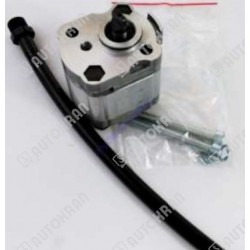 Lampa ostrzegawcza diodowa (kogut) LED 12/24 VDC, z homologacją, mocowanie podstawa 3 śruby + magnes, przewód spiralny z wtyczką