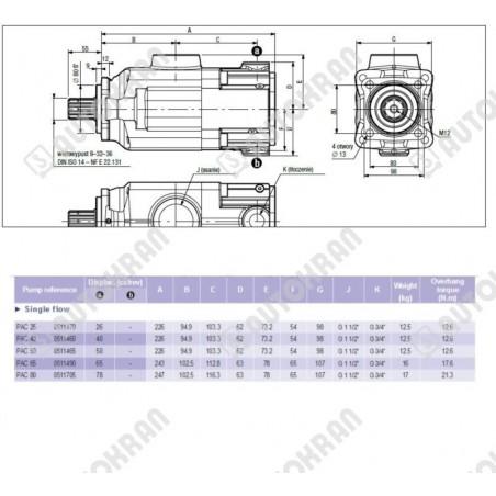 Hak 13-10, 6,7t. obrotowy, zamiennik dla części HIAB 150789