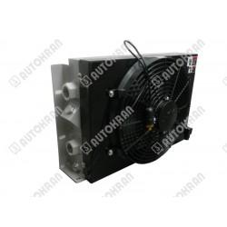 Chłodnica oleju hydraulicznego, wentylator 12 VDC