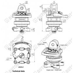 Rotator 4,5t. Baltrotors GR465 z flanszą 140x140