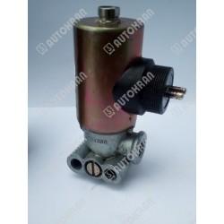 Elektrozawór pneumatyczny 3/2 do sterowania np. przystawką 24VDC, WABCO, markowy, do sterowania hakowca, bramowca, EZP