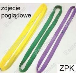 Zawiesie poliestrowe wężowe ZPK 1,0t-2,0/1,0m