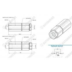 """Zawór sekwencyjny ( zawór pierwszeństwa ) 3/4"""", 120 l/min., regulowany w zakresie 80-250 bar,"""