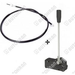 Dźwignia sterowania rozdzielacza z cięgnem / linką 3000 mm