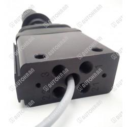 Sterowanie wywrotki / wywrotu, sterownik, joystick pneumatyczny / elektryczny, pneumatyczno-elektryczny NU.
