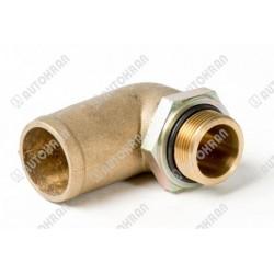 Szybkozłącze KINSHOFER górne czopowe rotatora do akcesoriów wideł chwytaka łyżki itp. - złącze z przewodami - KM 505 01