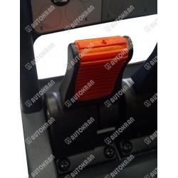 Joystick do sterowania radiowego HIAB, XS-DRIVE H2, H3 czerwony - oryginał 386-4081