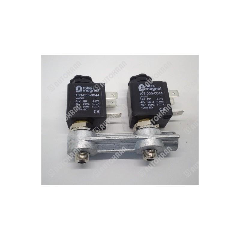 Zawór pneumatyczny elektromagnetyczny, sterownik 24 VDC, serwo, do rozdzielacza RM sterowanego pneumatycznie - Nordhydraulic 22
