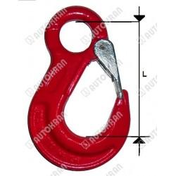 Hak oczkowy MI. 13-8, 5,3t. - L  148mm.