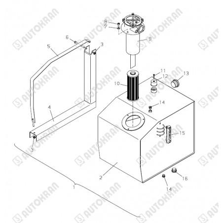 Zawór HIAB 140K zamiennik dla części HIAB 3916880